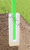 Бетонировка столбов