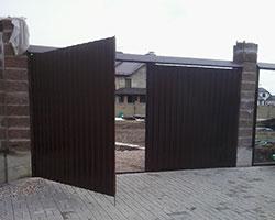 Ворота на дачу